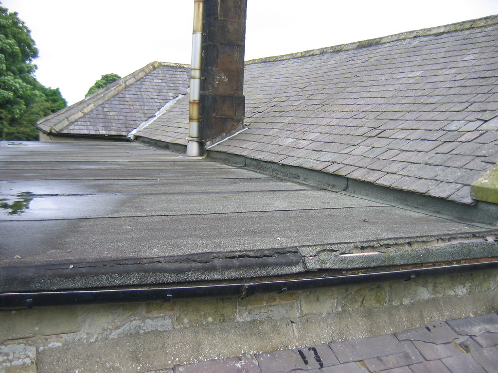 An image of a flat roof